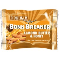 Bonk Breaker Energy Bars - Almond Butter and Honey (Box of 12)