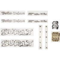 Surly Long Haul Trucker Deluxe Decal Set  - White