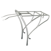 Soma Deco Rear Rack - Matte Silver