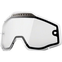 100% Goggles Replacement Lenses - Dual Lens (Clear)