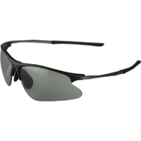 Jet Black Svelto Glasses - Black - Black (Smoke/Clear/Amber Lens)