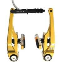 BOX Eclipse Long Linear Pull Brake - Rear (Gold)