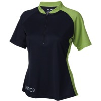 Whisky Parts Co. Womens #3 Jersey - Black/Moss - Small (Black/Moss)