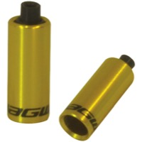Jagwire Hooded End Caps - 4.5mm Gold (Bottle of 30)