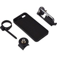 Topeak iPhone RideCase Smartphone Case Only - Fits iPhone 5 (Carbon/Black)