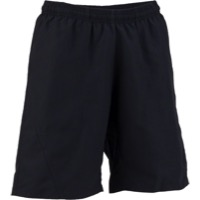 Whisky Parts Co. Womens #3 Baggy Shorts - Black - Large (Black)