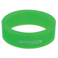 "FSA PolyCarbonate Headset Spacers - 1 1/8"" x 10mm Each (Green)"