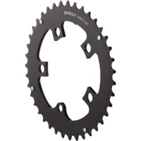 Surly O.D. Aluminum Chainrings - 39t x 94mm (Black)