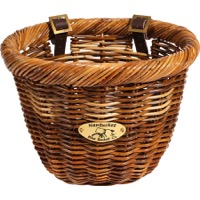 Nantucket Cisco Oval Basket - Honey