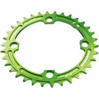 Race Face Narrow Wide Chainrings - 9/10/11/12 Speed - 104mm x 34t (Green)
