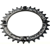 Race Face Narrow Wide Chainrings - 9/10/11/12 Speed - 104mm x 30t (Black)