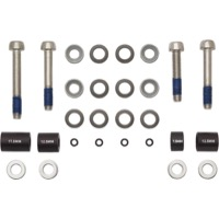 Sram/Avid Disc Post Mount Adaptor Sets - 20 S, CPS and Standard Stainless Hardware (Front 180mm/Rear 160mm)