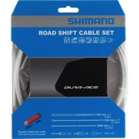 Shimano Dura-Ace SP41 Poly-Coated Shift Cables - White Housing (Cable Set)