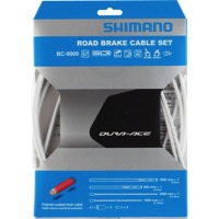 Shimano Dura-Ace 9000 Poly-Coated Brake Cable Set - Polymer Coated Set (White)