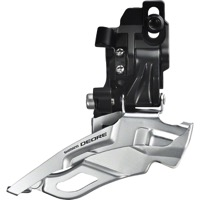 Shimano FD-M611 Deore Direct Mnt. Front Derailleur - 3 x 10 Speed - Direct Mount / Down Swing / Dual Pull (3x10)