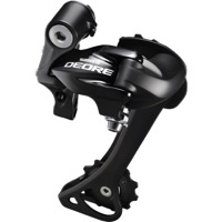 Shimano RD-T610 Deore Touring Rear Derailleur - 10 Speed - Long Cage SGS (Black)