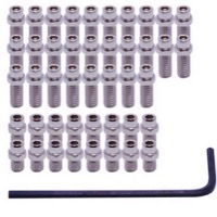 DMR Traction Pin Sets - Fits Vault, Flip Pin Set (Silver)