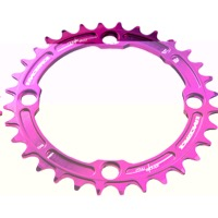 Race Face Narrow Wide Chainrings - 9/10/11/12 Speed - 104mm x 34t (Purple)
