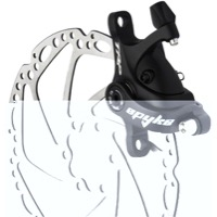 TRP Spyke Mechanical Disc Brakes - 180mm Rotor (Black)