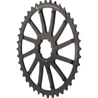 Wolf Tooth Components GC 40/42 Cogs - 10 Speed Shimano/Sram - 40 Tooth, Black (Shimano 36t Compatible)