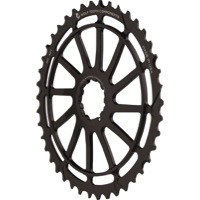 Wolf Tooth Components GC 40/42 Cogs - 10 Speed Shimano/Sram - 42 Tooth, Black (Shimano 36t Compatible)