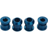 Wolf Tooth Components Chainring Bolt/Nut Sets - 8 Piece (Blue)