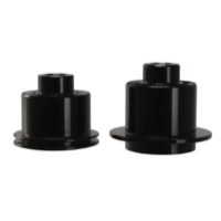 Spank Hub Conversion Kits - 10x135mm QR XX1 Adaptors, Pair (Fits Oozy/Spike Rear Hubs)