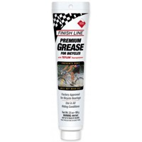 Finish Line White Grease Tube - 3.5 fl oz