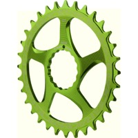 Race Face Direct Mount Cinch Narrow Wide Chainring - 2017 - 34 Tooth x Direct Mount (Green)