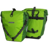 Ortlieb Back-Roller Plus Rear Panniers - Lime/Moss (Pair)