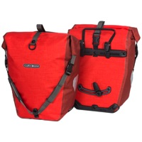 Ortlieb Back-Roller Plus Rear Panniers - Signal Red/Chili (Pair)