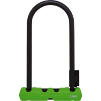 "Abus Ultra 410 U-Locks - 9"" x 4.25"" (Black/Green)"