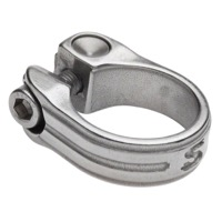 Surly New Stainless Seatpost Clamps - Available in Black or Silver - 30.0mm (Silver)