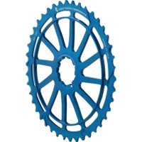 Wolf Tooth Components GC 40/42 Cogs - 10 Speed Shimano/Sram - 42 Tooth, Blue (Shimano 36t Compatible)