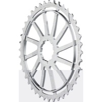 Wolf Tooth Components GC 40/42 Cogs - 10 Speed Shimano/Sram - 42 Tooth, Silver (Shimano 36t Compatible)