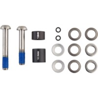 Sram/Avid Disc Post Mount Adaptor Sets - 20 S, Standard Ti Hardware (Front 180mm/Rear 160mm)