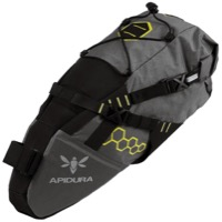Apidura Saddle Pack - Compact (Grey/Black)