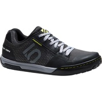 Five Ten Freerider Contact Flat Shoe - Black/Lime - Size 9.5 (Black/Lime)