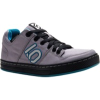 Five Ten Freerider Canvas Women's Flat Shoe - Gray/Teal - Size 8.5 (Gray/Teal)