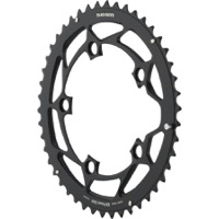 Sram Powerglide Black Chainrings - 10 Speed - 110mm x 46t for 36t inner BB30 Crank