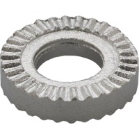 Tektro Serrated Brake Washer - Each (Silver)