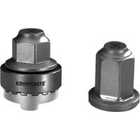 Kryptonite Security WheelNutz - M9 Locking Nut Kit (Silver)