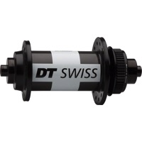 DT Swiss 180 QR Center Lock Road Disc Front Hub - 100mm x 9mm QR x 28 Hole (Black)