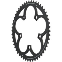 Campagnolo Compact 11 Speed Chainrings - 110mm x 50t for 34t Inner '11-'14 SR/Record/Chorus (Grey)