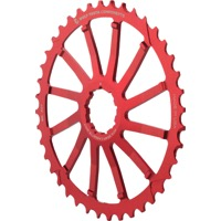 Wolf Tooth Components GC 40/42 Cogs - 10 Speed Shimano/Sram - 40 Tooth, Red (Sram 36t Compatible)