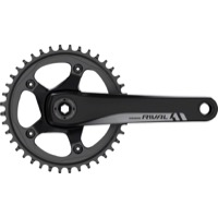 Sram Rival 1 GXP Cranksets - 175mm x 42 Tooth x 110mm BCD (Black)