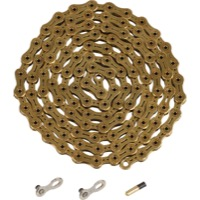 YBN Ti-Nitride 11 Speed Chains - 116 Links (Gold)