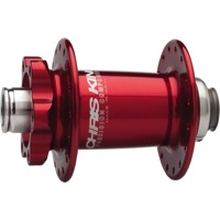 Chris King ISO Disc 15mm Small Diameter Front Hub - 100mm x 32 Hole x 15mm Thru (Red)