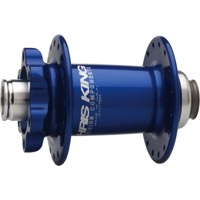 Chris King ISO Disc 15mm Small Diameter Front Hub - 100mm x 32 Hole x 15mm Thru (Navy)