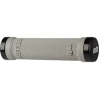 ODI Ruffian Lock-On Grips - Bonus Pack (Gray Grips/Black Clamps) Soft Compound